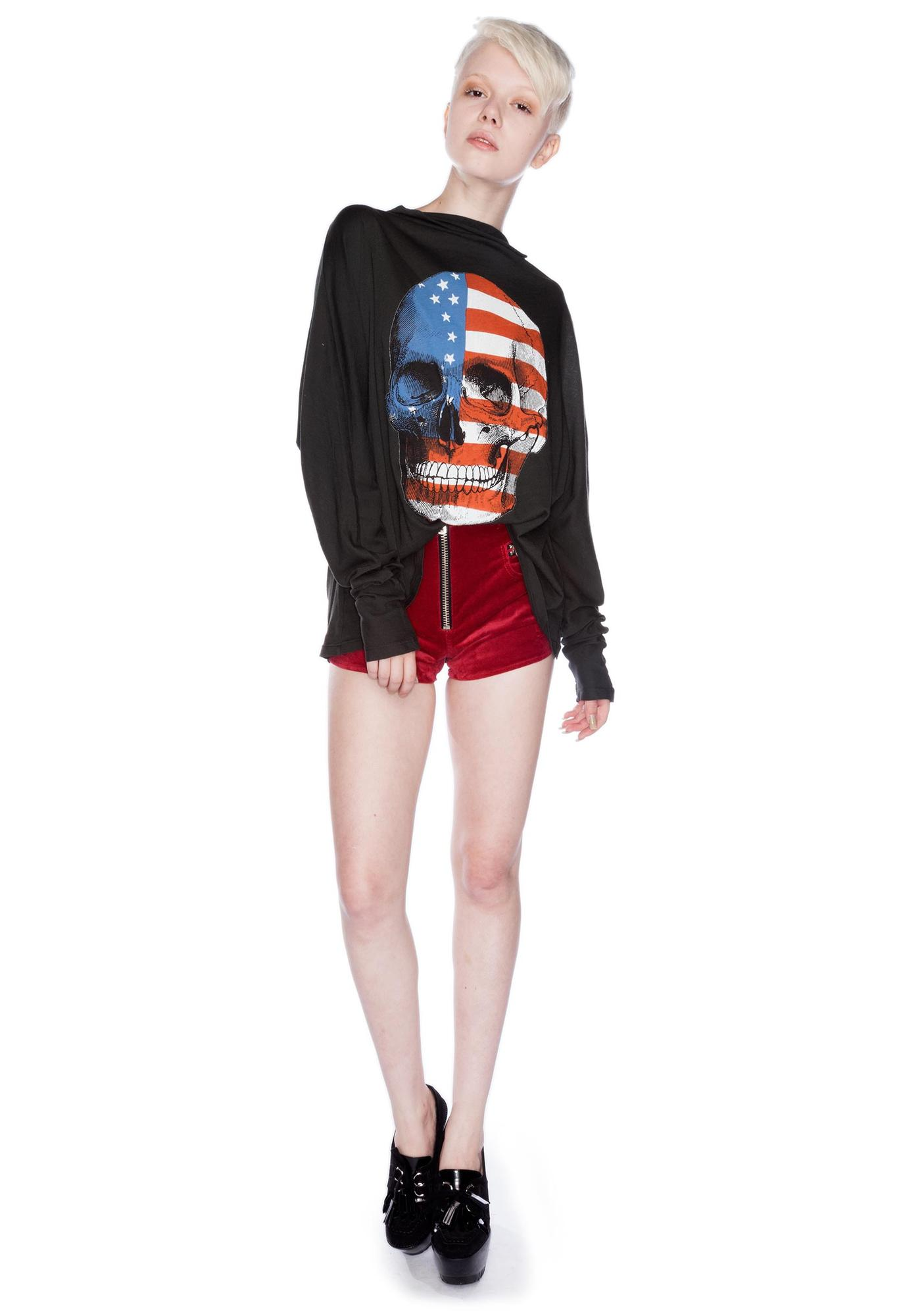 Wildfox Couture American Dream Garbage Tee
