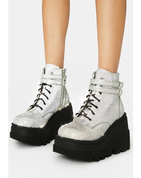 Bling Technopagan Boots