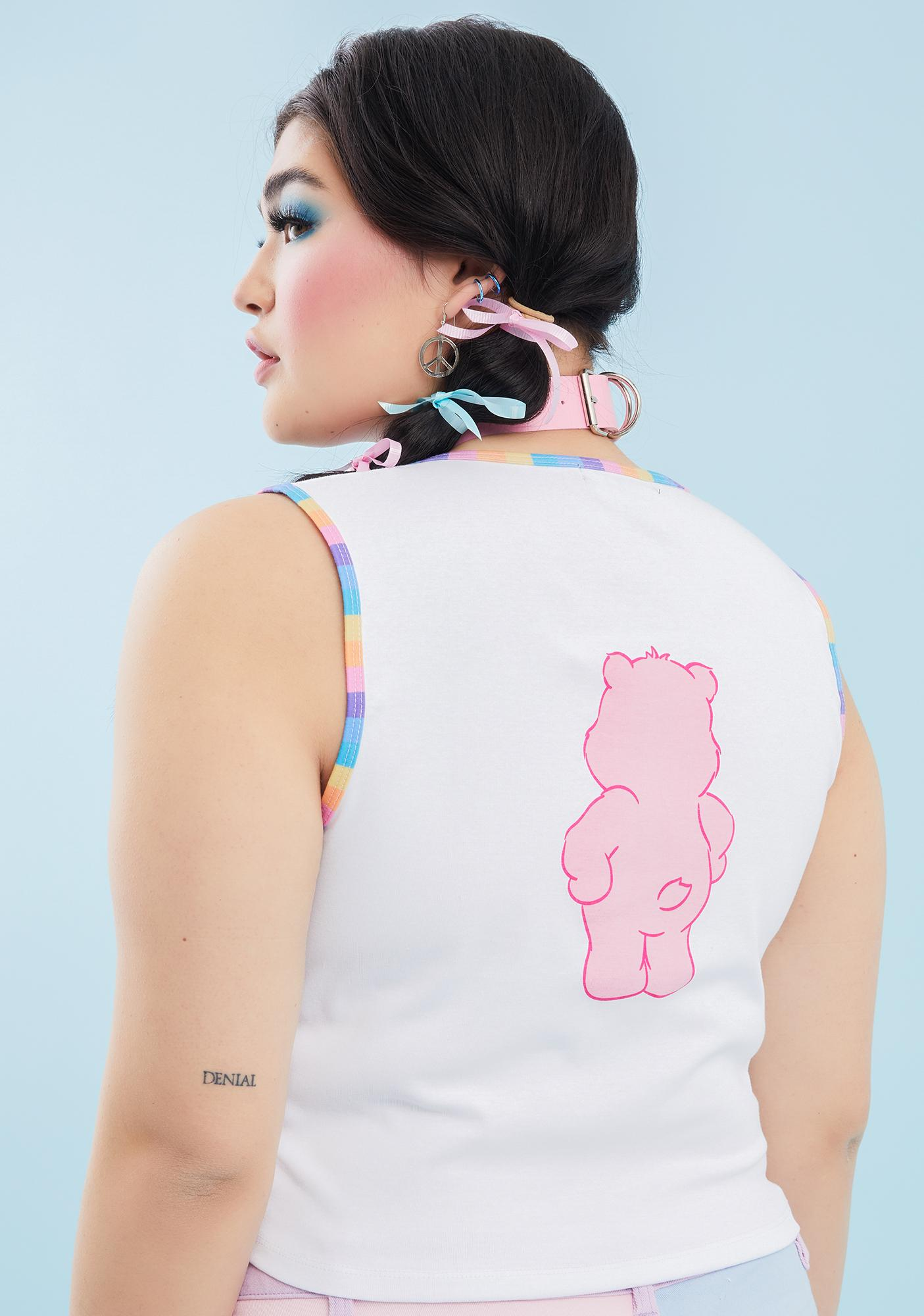 Dolls Kill x Care Bears Infinite Positive Thoughts Graphic Tank