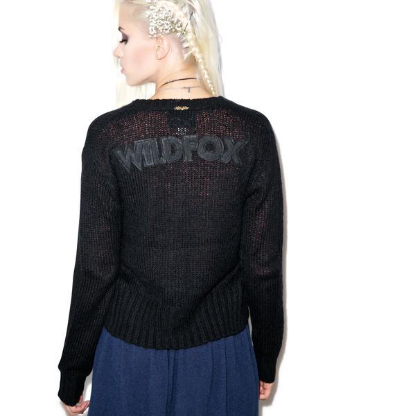 Wildfox Couture Wildfox Ballet High Waist Cardigan