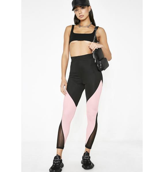 Poster Grl Hottest Housewife Colorblock Leggings