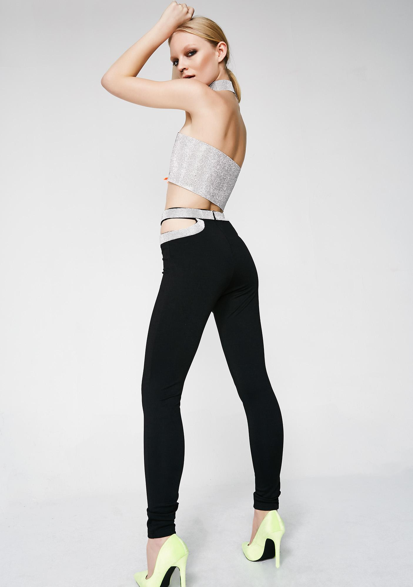 Spark It Up Cut-Out Pants