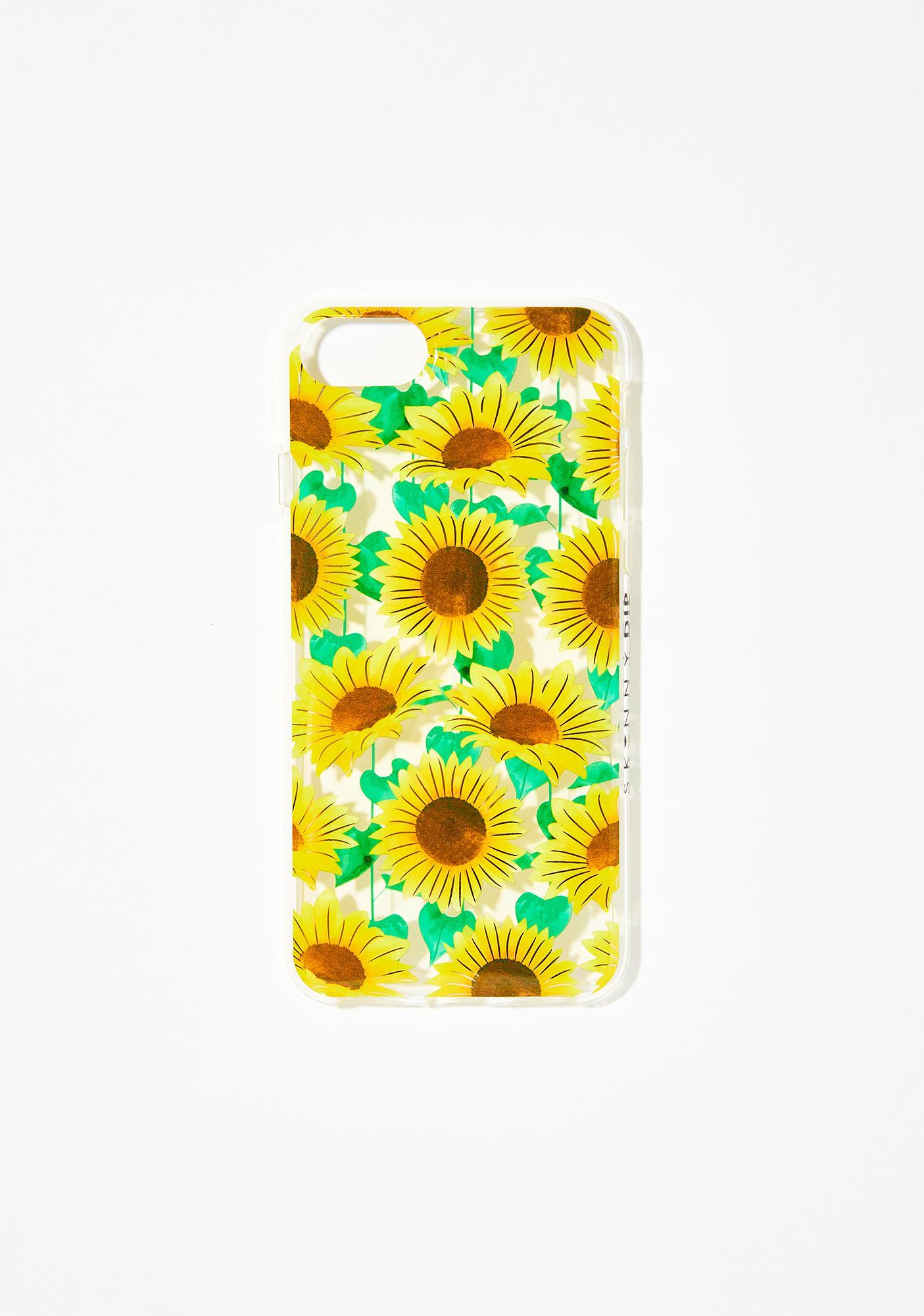 Skinnydip Sunflower iPhone Case