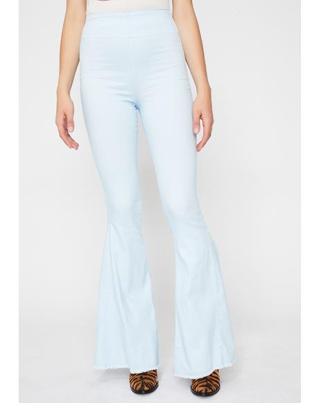 Sky Hippie Chic Bell Bottoms