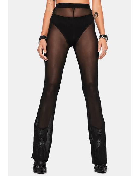 Bad Behavior Mesh Pants