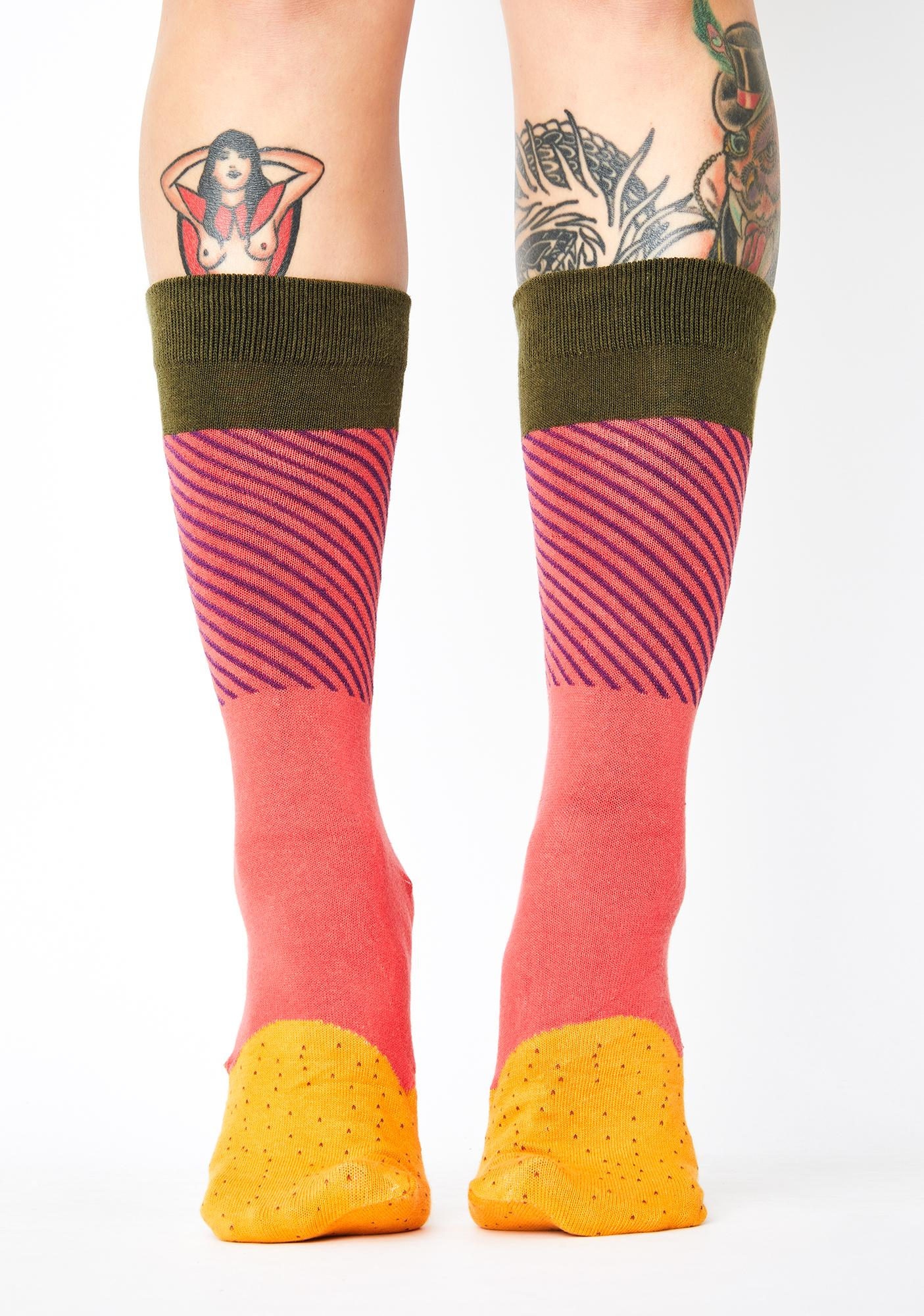 Taco Dirty To Me Crew Socks
