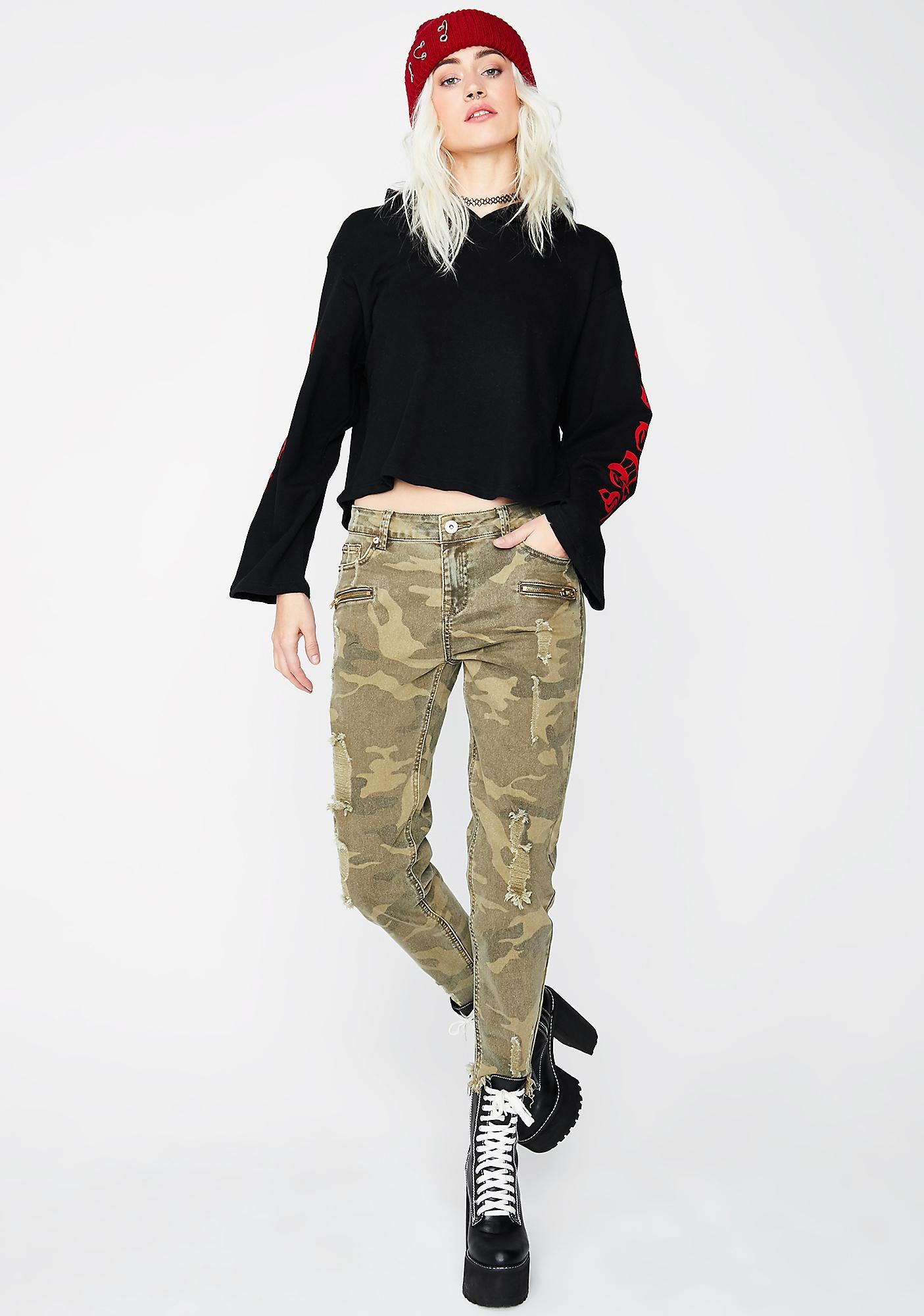 Look Away Camo Jeans