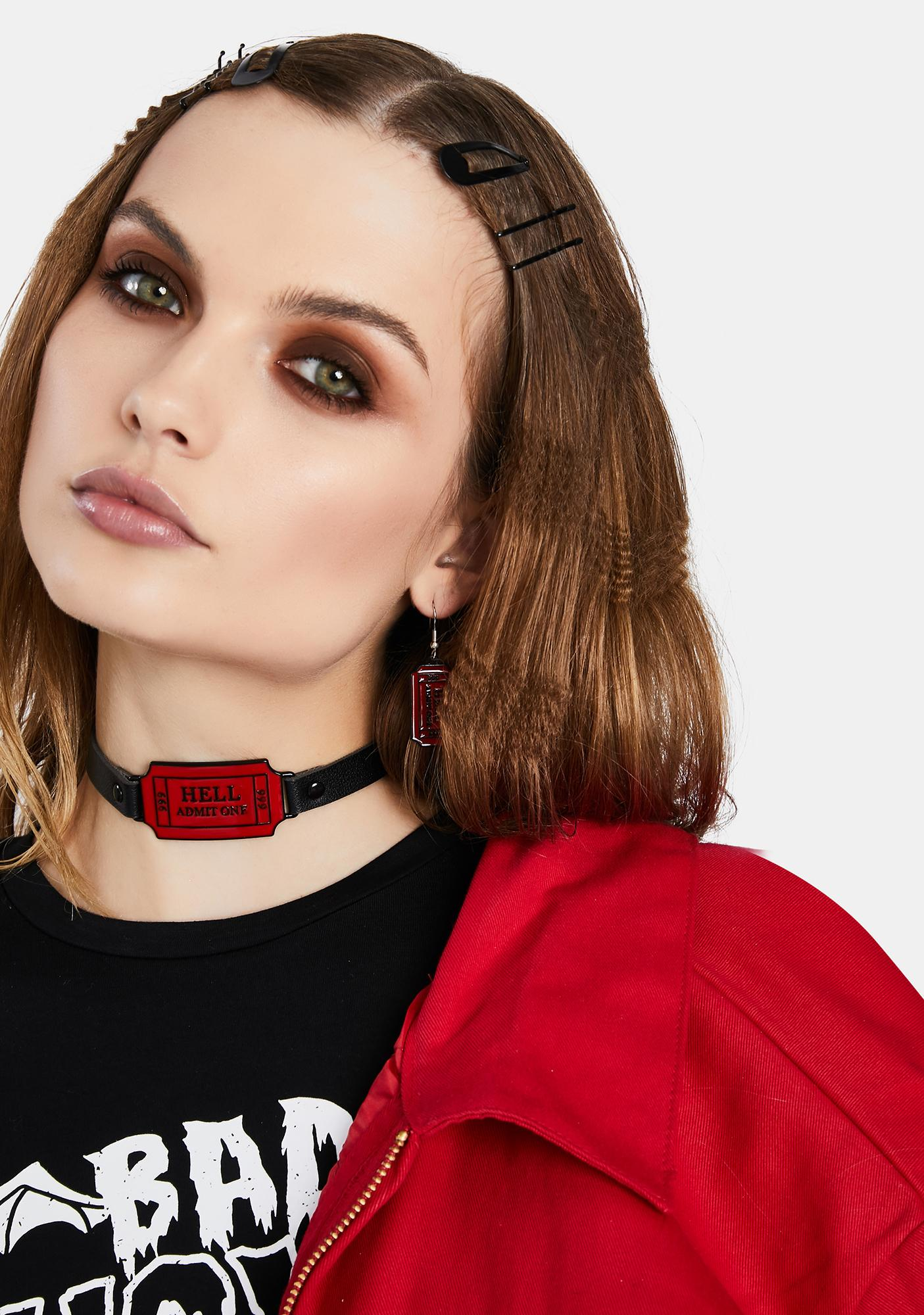 Ticket To Hell Choker