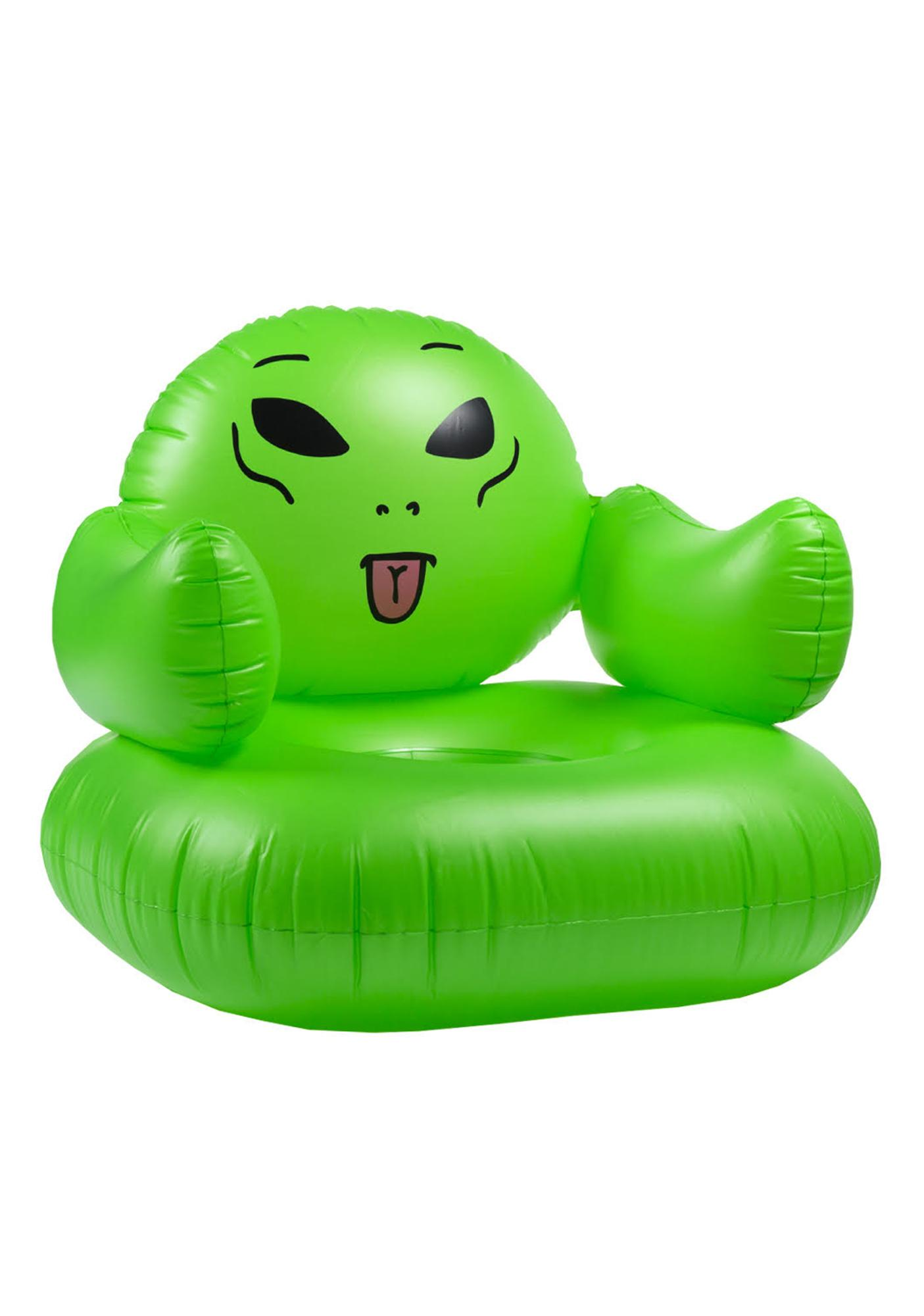 Inflatable Chair Ripndip We Out Here Inflatable Chair  Dolls Kill