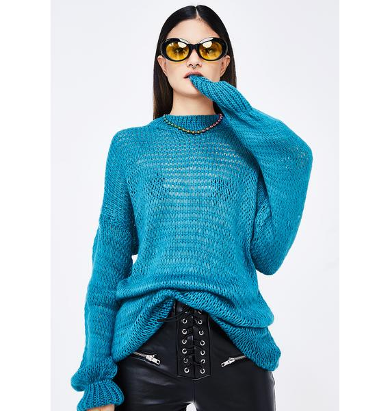 See Right Thru Sweater