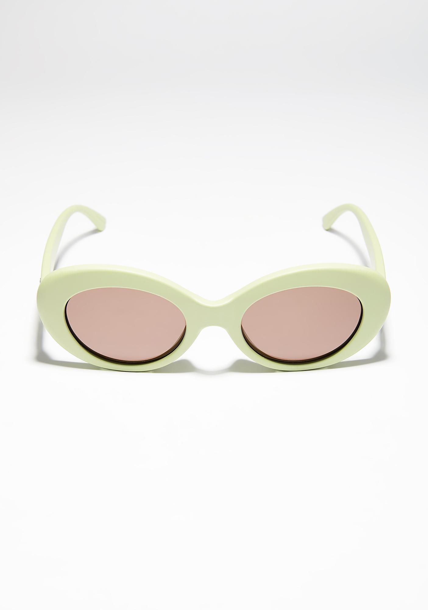 Crap Eyewear The Love Tempo Matte Avocado Sunglasses