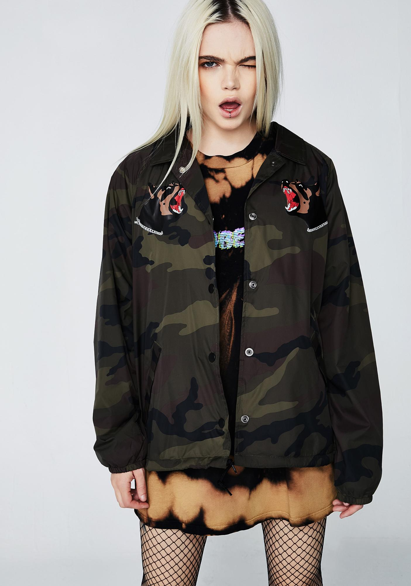 Obey Off The Chain Coach Jacket