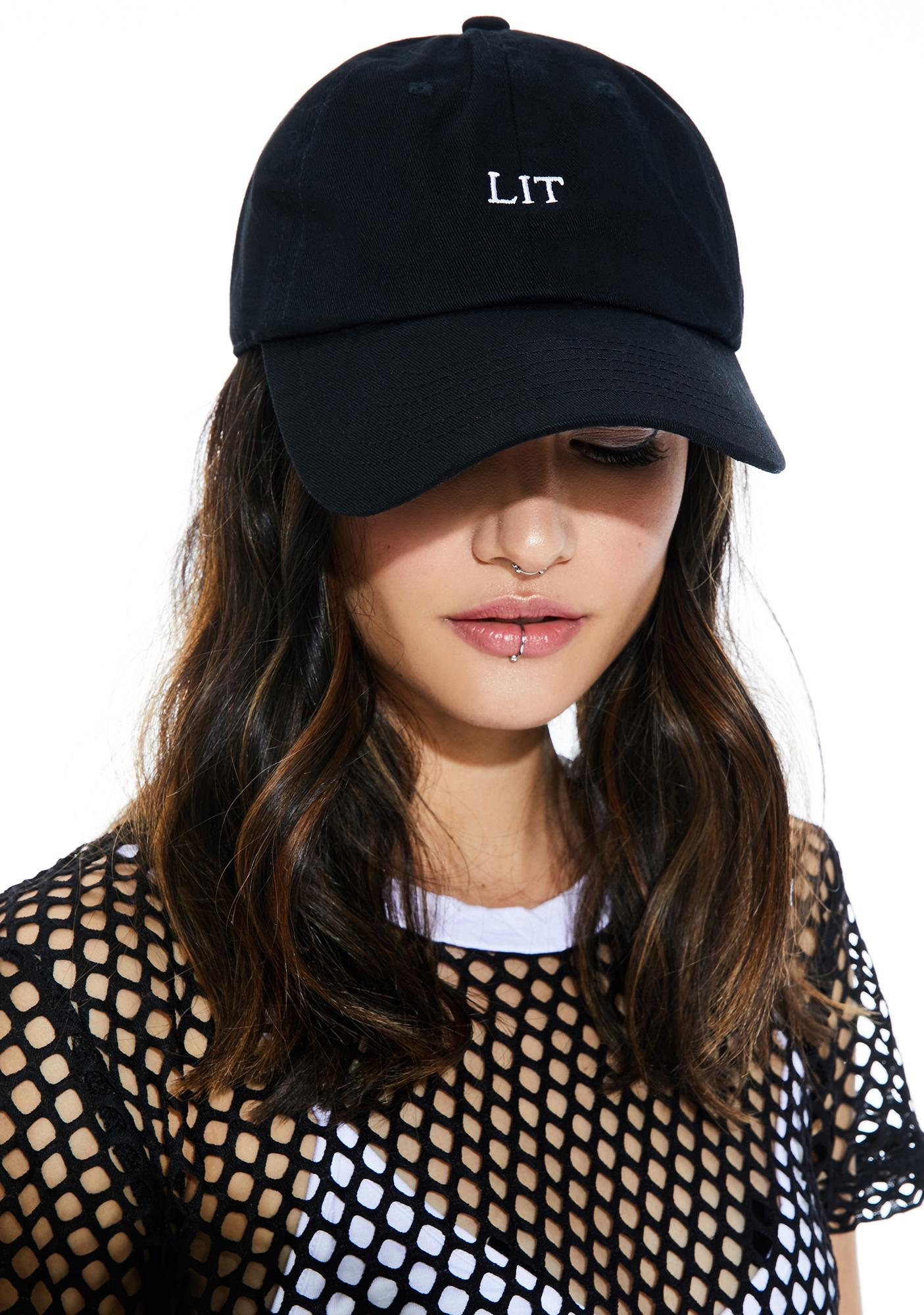 Aflame Dad Hat