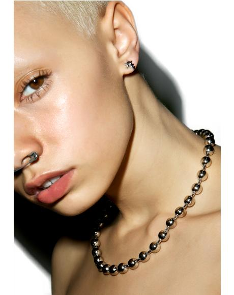 Ball 'N Chain Necklace
