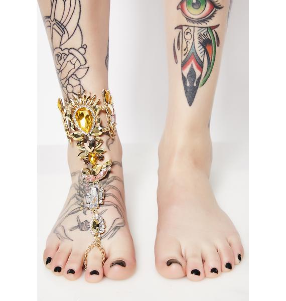Queen B Blingin' Foot Jewels