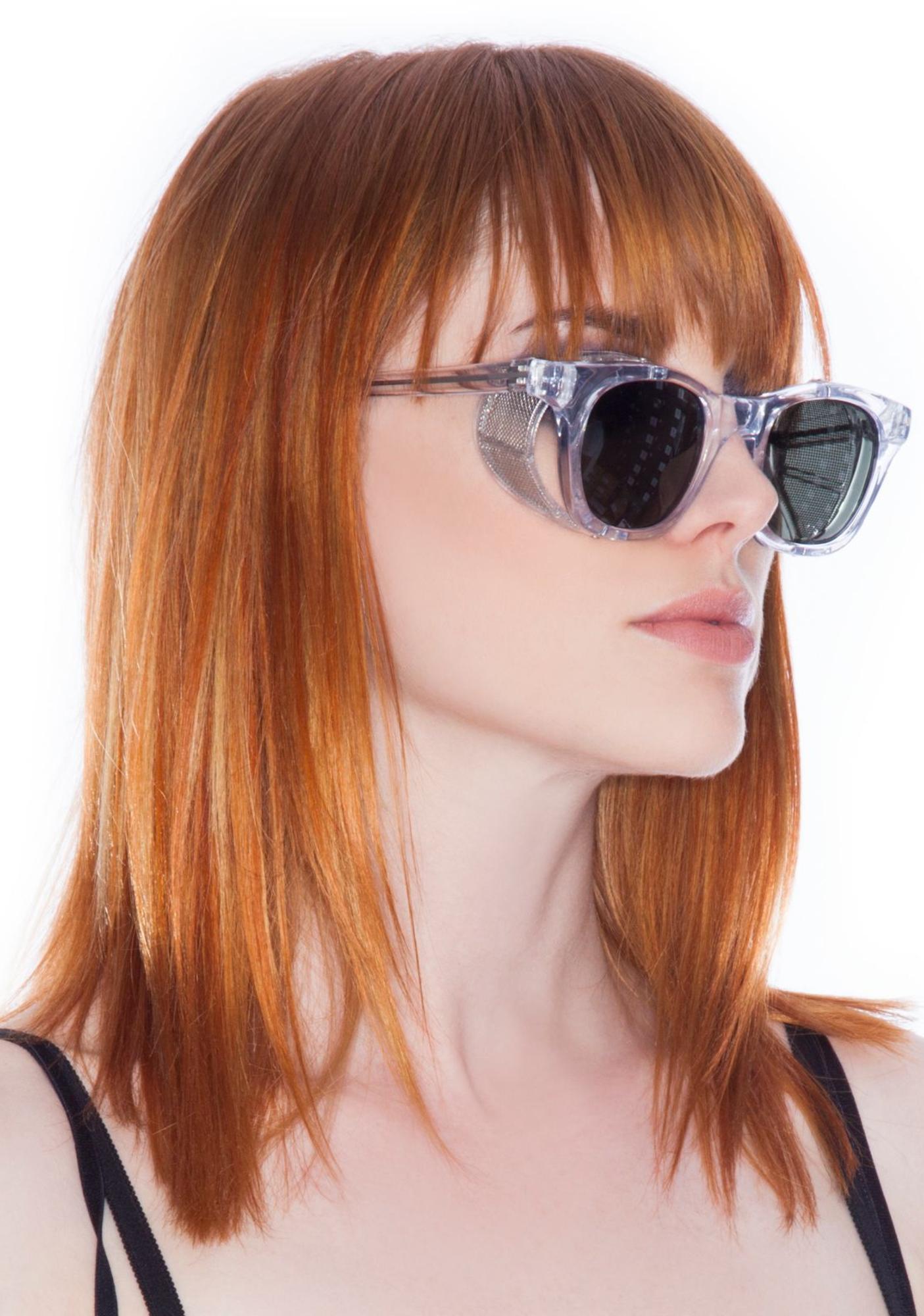 Peekabooda Barton Clear Vintage Deadstock Sunglasses