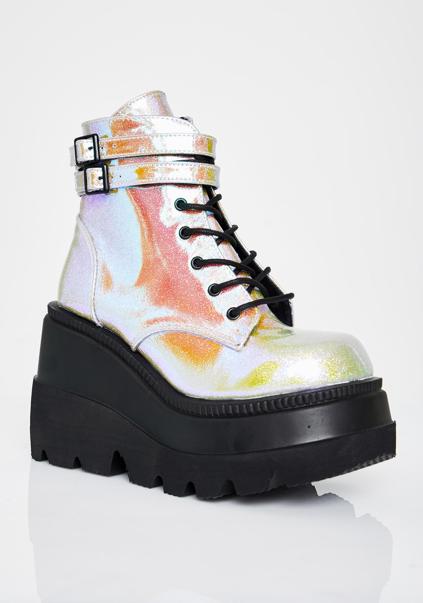 Demonia Acid Technopagan Boots