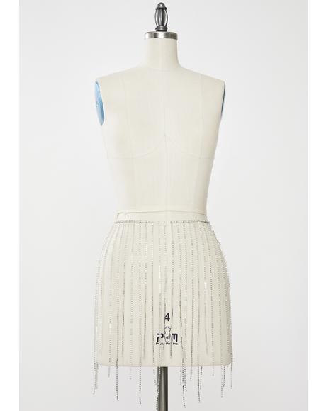 Diamond Belle Saloon Rhinestone Skirt