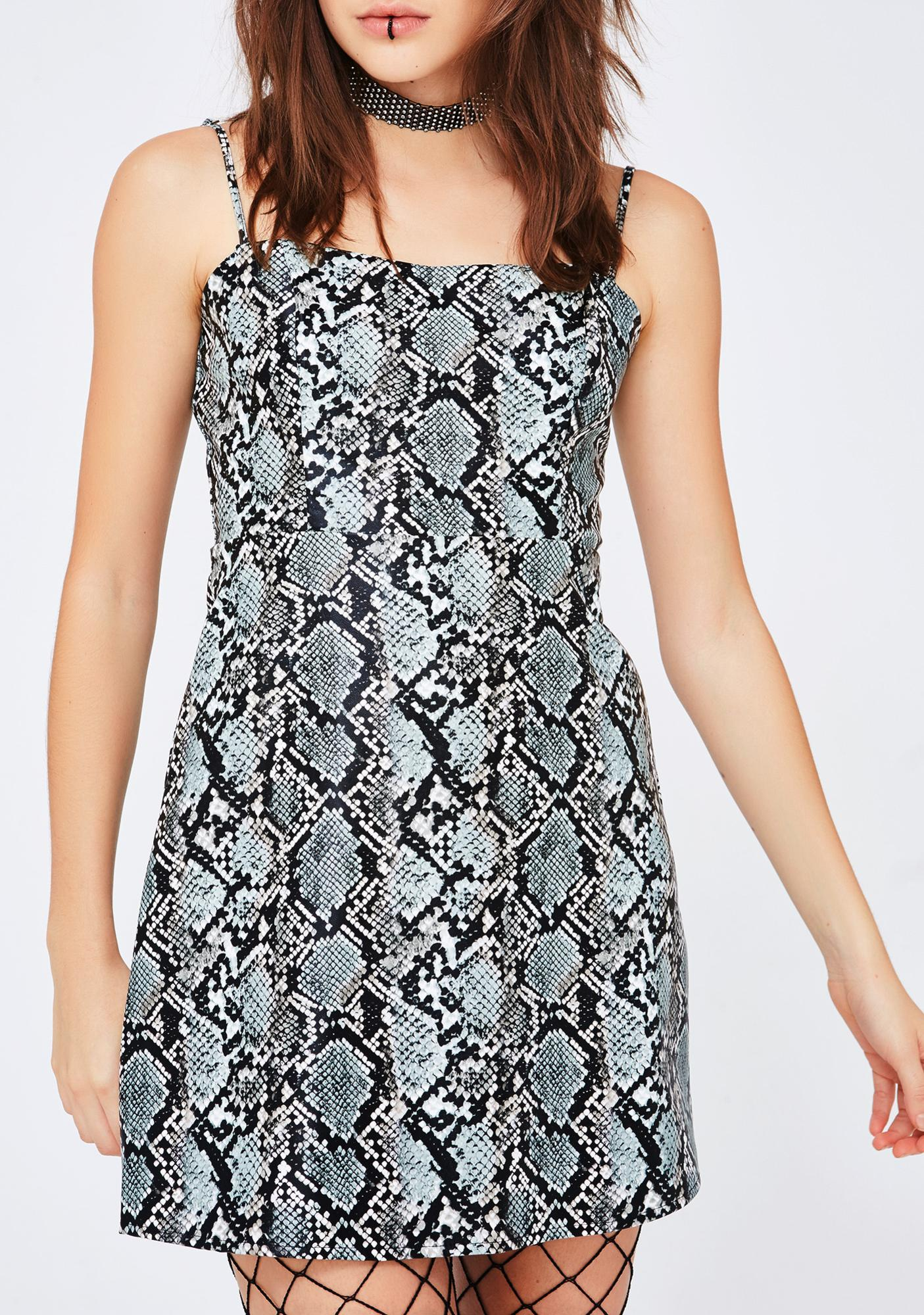 Slither Hither Mini Dress