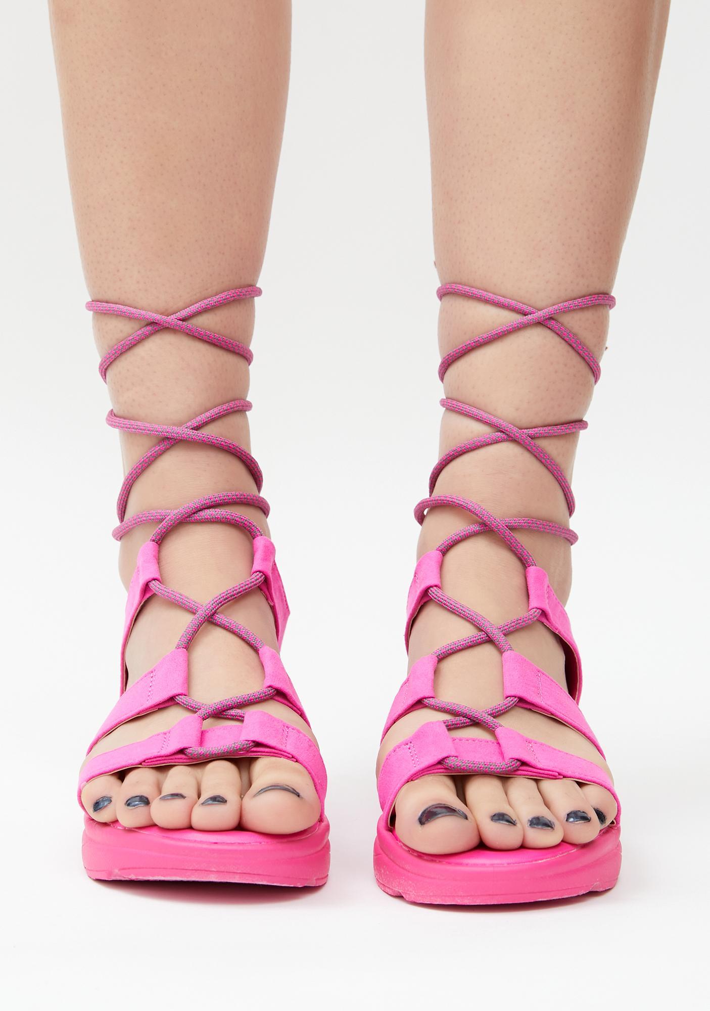 Total Shock Gladiator Sandals