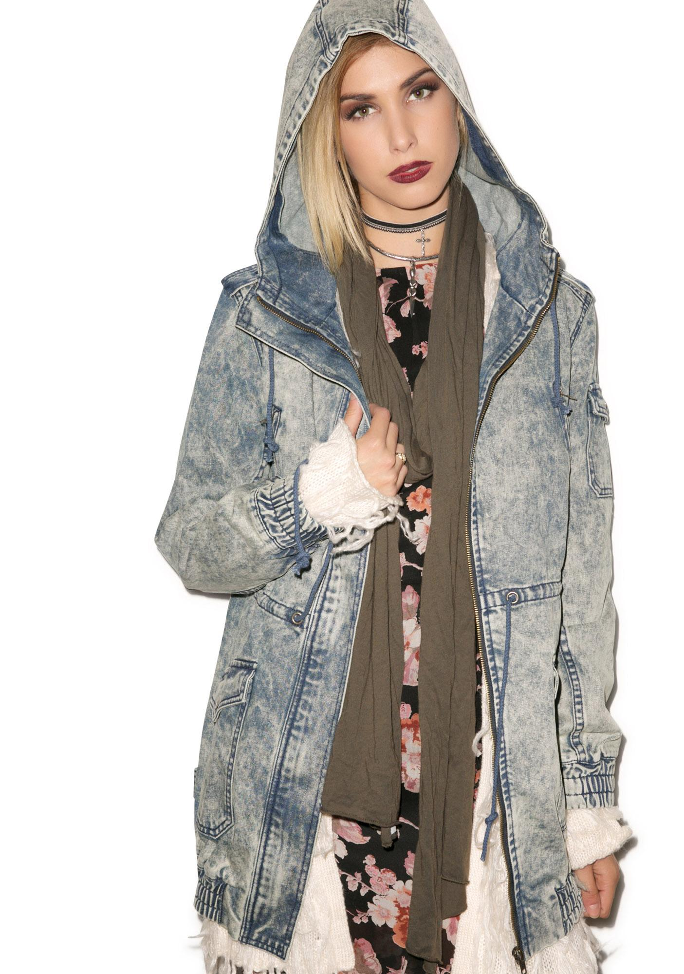 Evil Twin Brooklyn Denim Anorak
