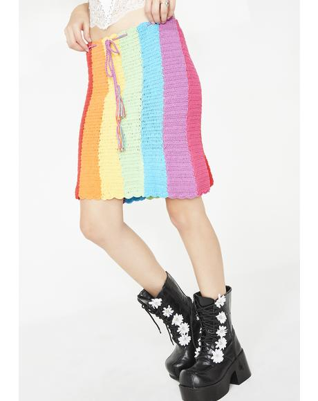 Rainbow Dream Skirt