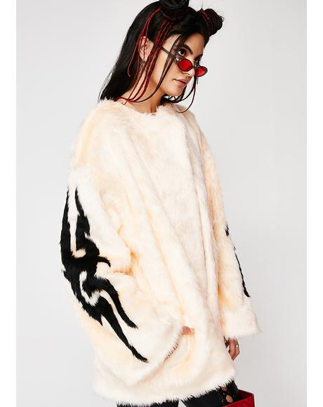 Tribal Free Boxie Fur Coat