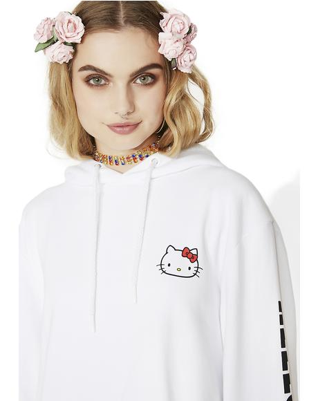 Hello Kitty Oversized Hoodie
