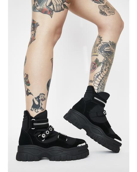 Hunter Platform Boots