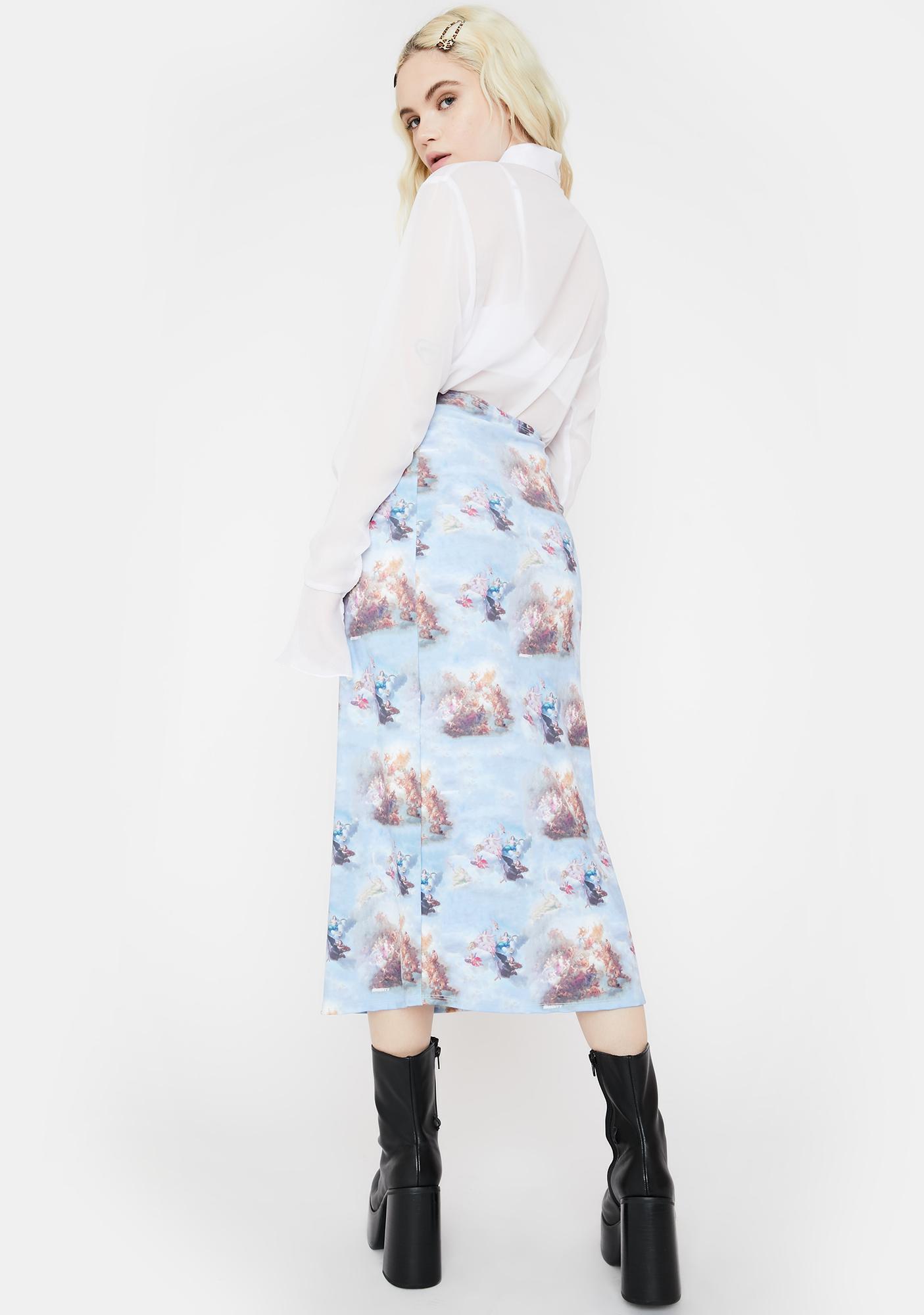 O Mighty Renaissance Midi Skirt
