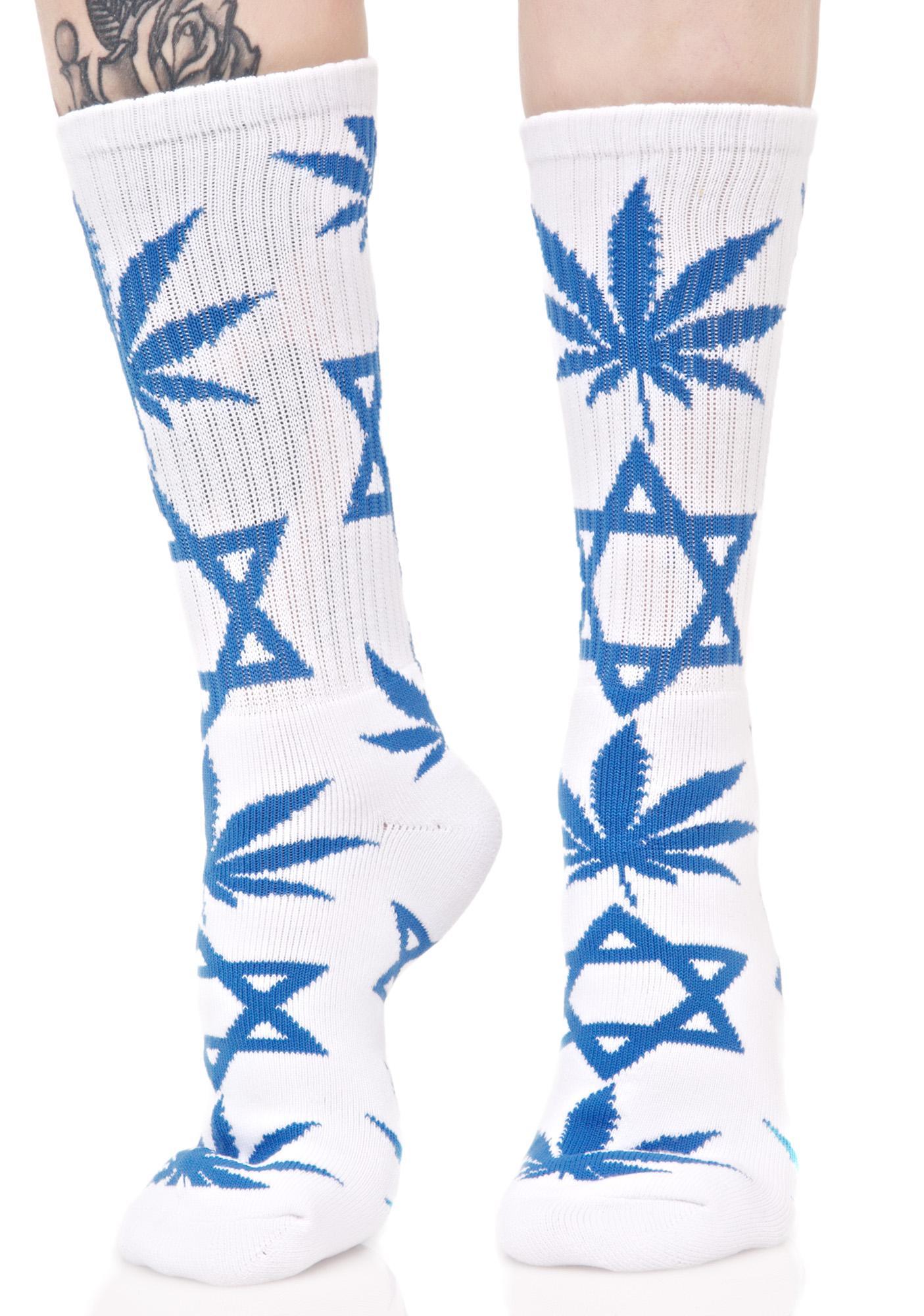 HUF Hanukkah Crew Sock