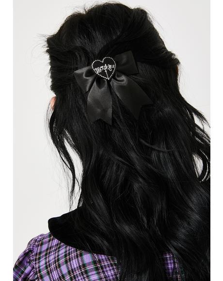 Sister Bow Hair Clip