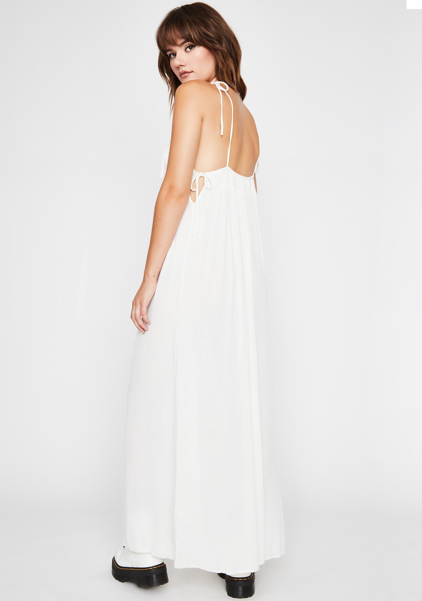 Social Floater Maxi Dress
