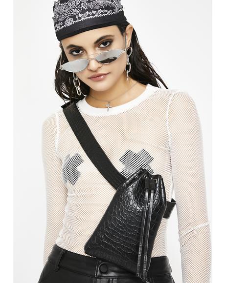 Onyx Reptile Runner Waist Bag