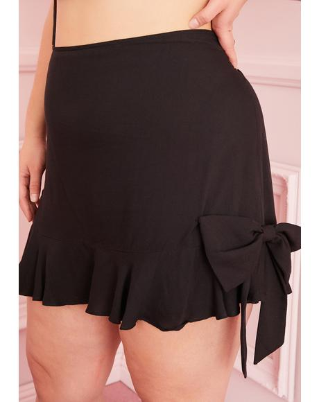 Truly Accidentally Yours Bow Skirt