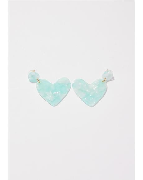 Love Affair Heart Earrings