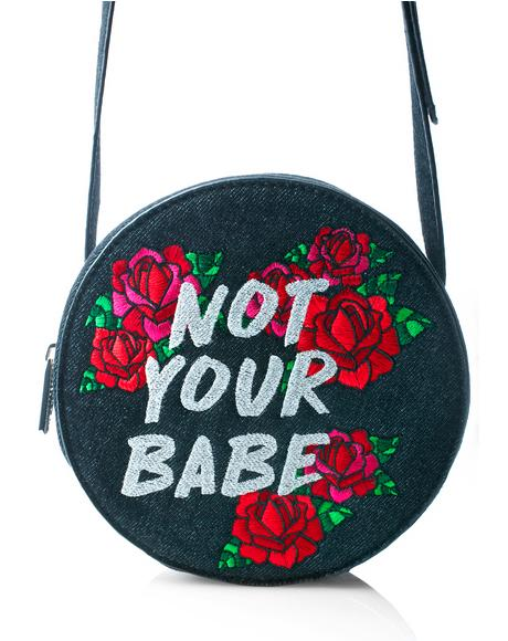 Not Your Babe Crossbody Bag