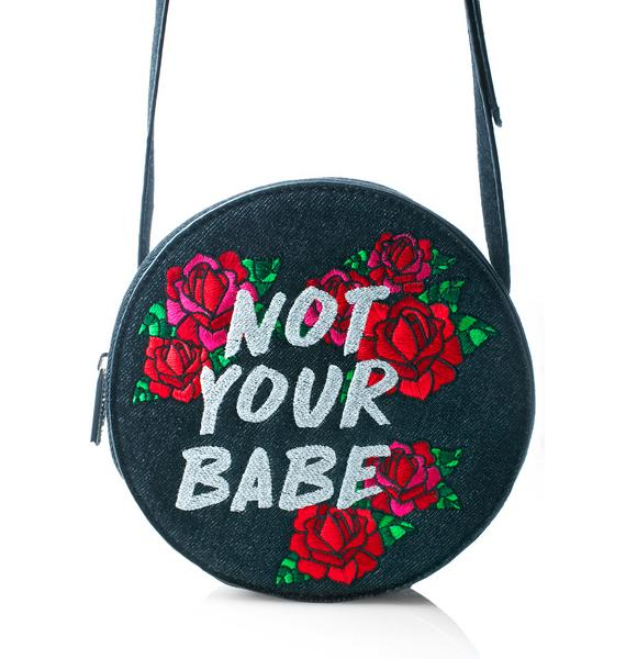 Skinnydip Not Your Babe Crossbody Bag