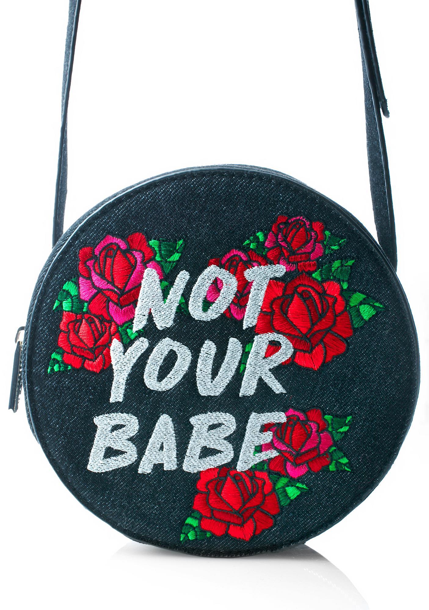 Skinnydip Not Your Babe Crossbody Bag