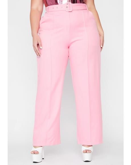 Miss Posh Beginnings Belted Trousers