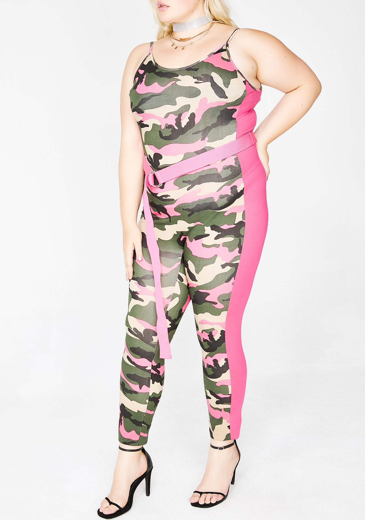Keep It Treal Camo Jumpsuit