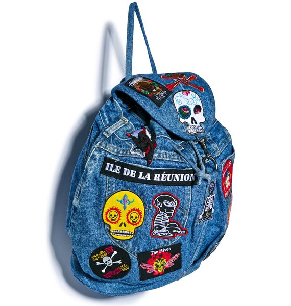 Brain Dead Patched Backpack