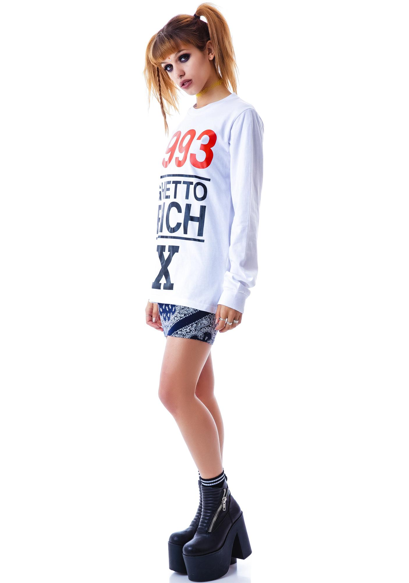 Joyrich 1993 Ghetto Rich x Long Sleeve Tee
