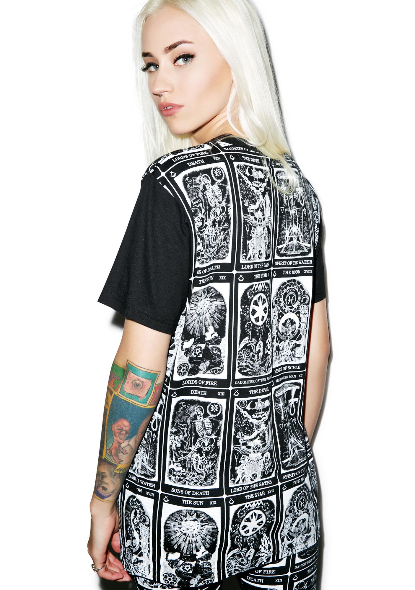 Black Scale Trionfi T-Shirt