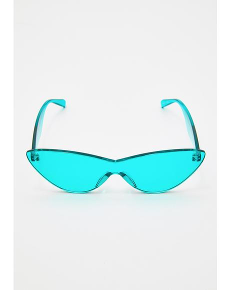 Aqualicious Cat Eye Sunglasses