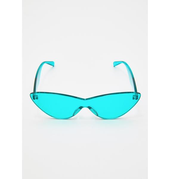 Aqualicious Cat Eye Sunglasses