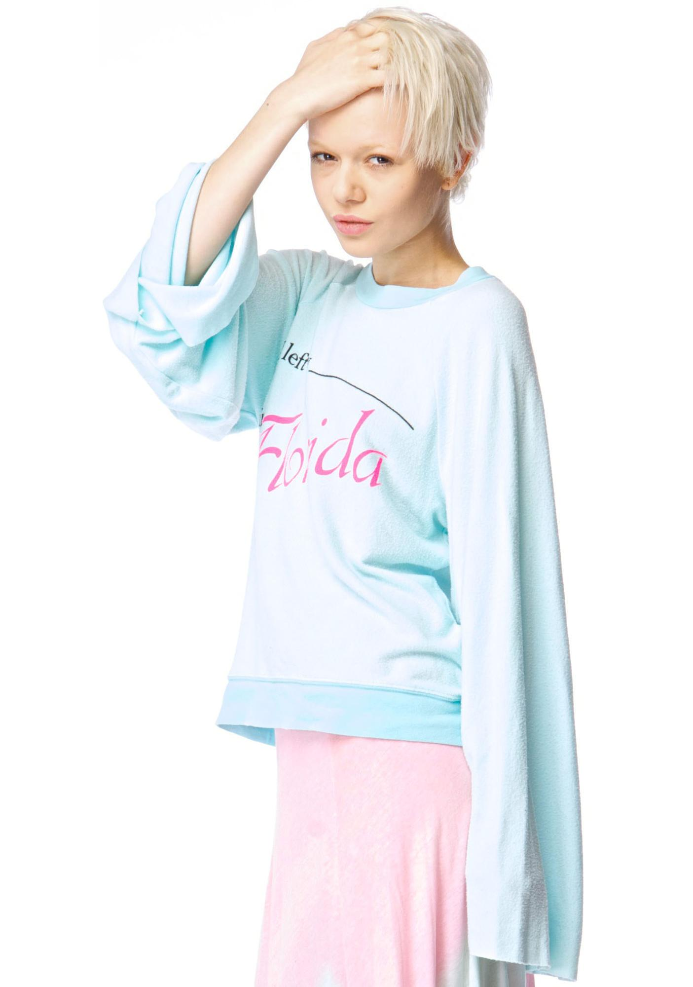 Wildfox Couture Florida Tourist Star Crossed Sweater