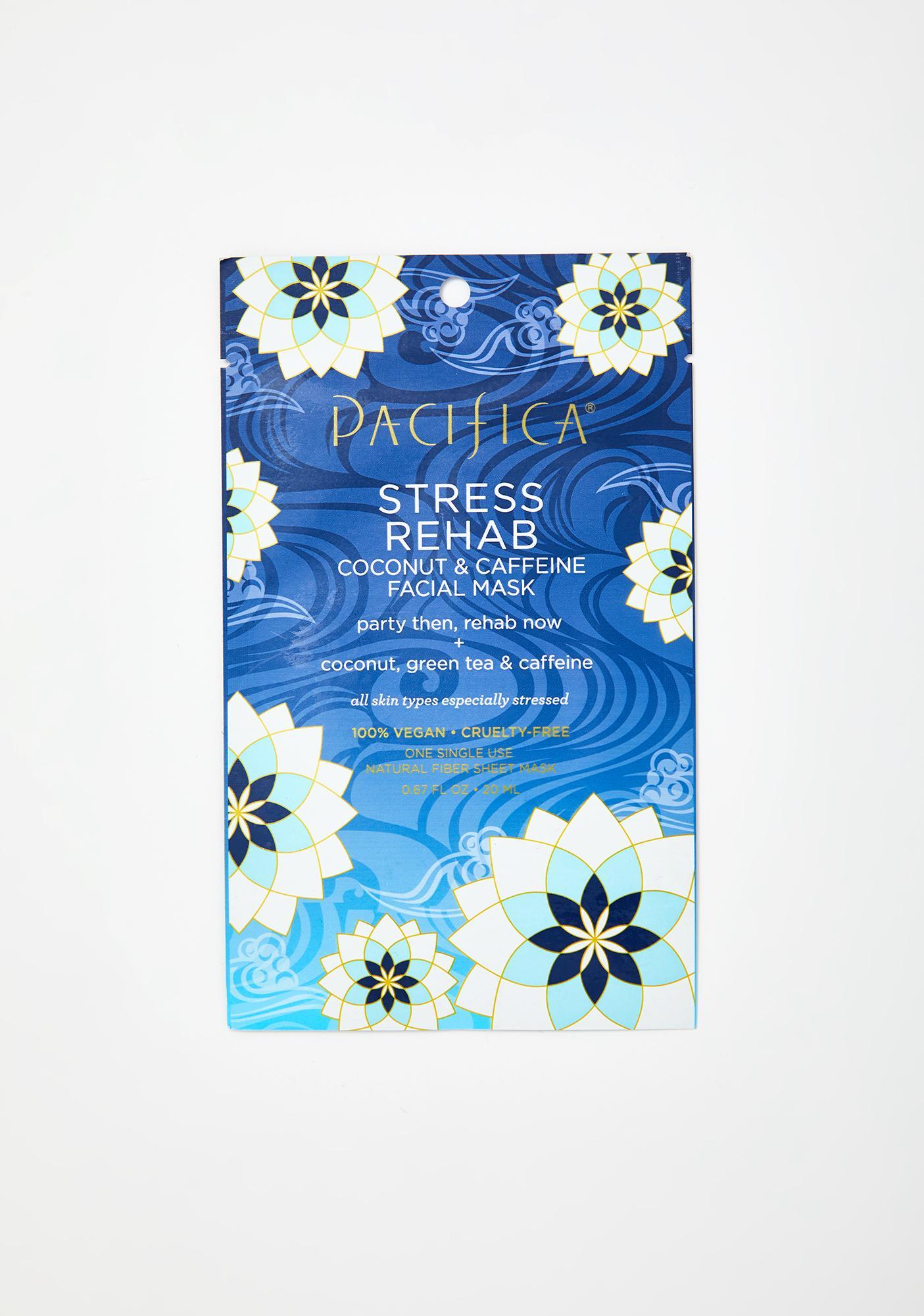Pacifica Stress Rehab Coconut N Caffeine Face Mask