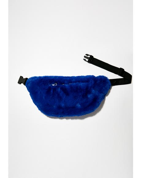 Cobalt Plush Baby Fanny Pack