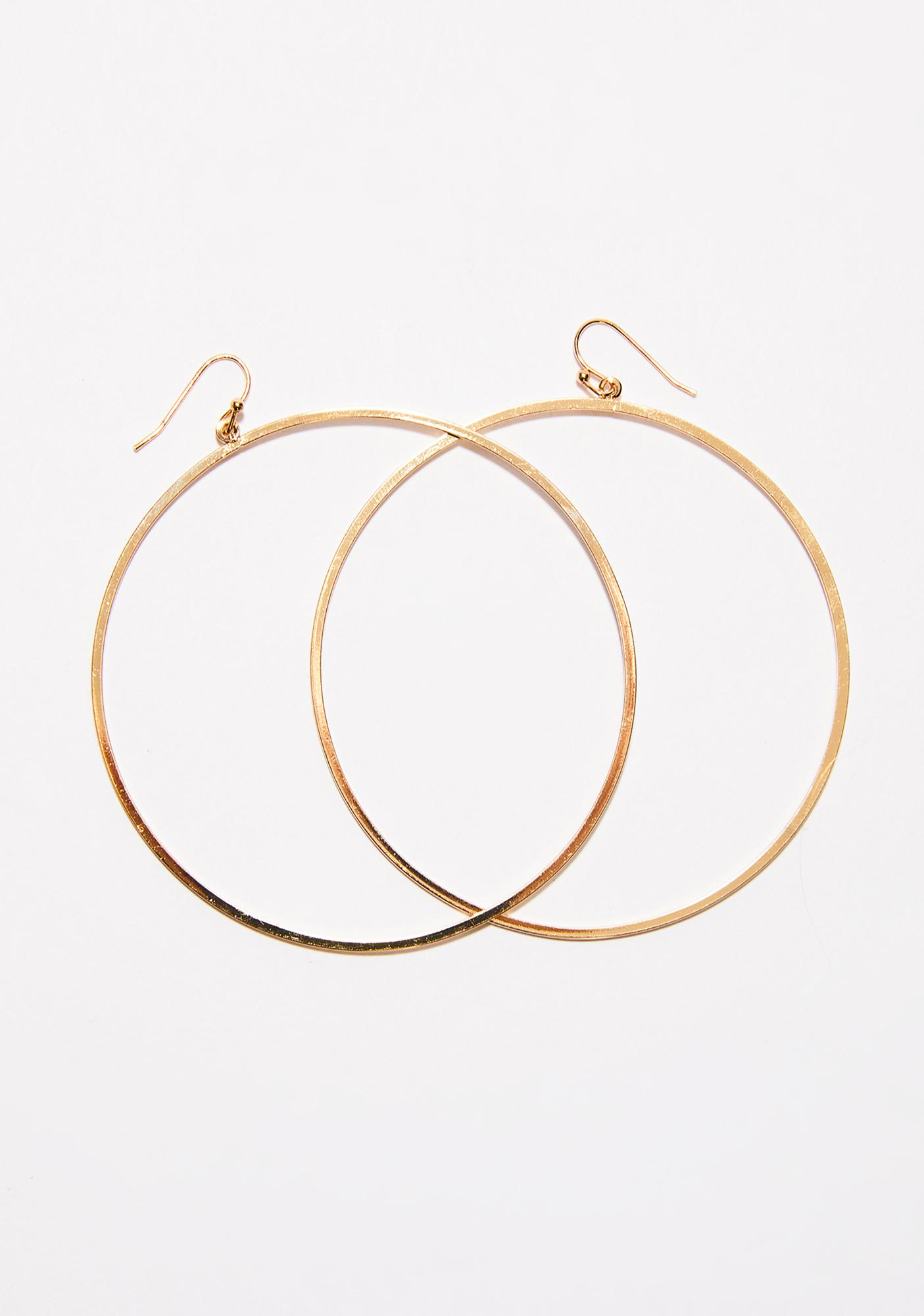 All The Vices Hoop Earrings